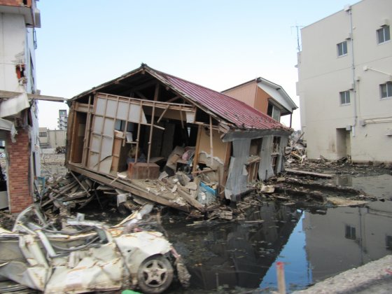 Japan – 4 months after the tsunami